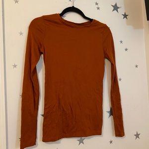 Dark Orange Long Sleeve